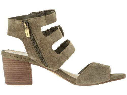 Vince Camuto Women/'s Geriann Triple Buckle Sandal Truffle