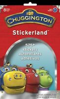 Chuggington Stickerland Pad 575+ Stickers 8 Pages Party Accessory Ages 3+
