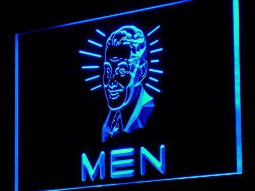 j112-b MEN Toilet Vintage Display Decor Neon Light Sign