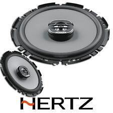 """HERTZ UNO X170 6.7"""" 17CM COAXIAL 2 WAY CAR VAN STEREO SPEAKER SET PAIR 200W"""