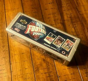 Upper-Deck-1991-NFL-Football-Premiere-Edition-Complete-Set-Factory-Sealed