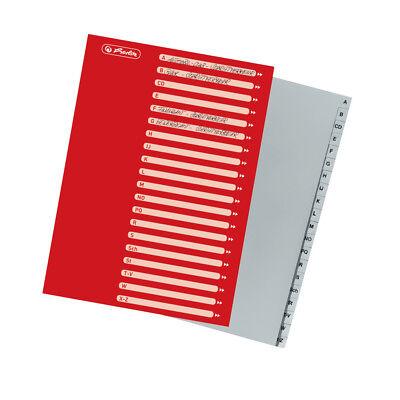 DIN A4 PP A-Z 20tlg. Herlitz Ordner Register