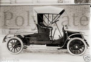 Ancienne Voiture automobile voiture ancienne 1900 renault type à identifier - repro