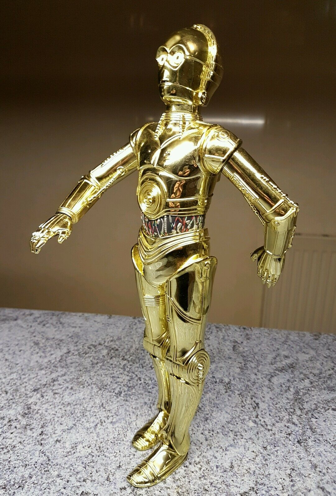 1/6 scale Star Wars C3P0 ( C-3PO ) 12 inch scale figure Power of the Force
