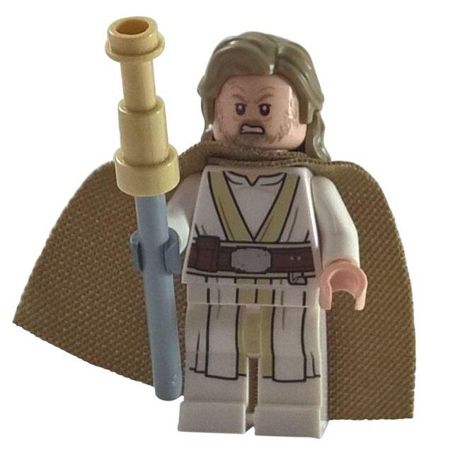 1 lego minifigure luke skywalker old star wars last jedi ebay