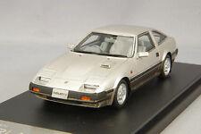 1/43 Hi-Story Nissan Fairlady Z 2 by 2 300 ZX Z 31 (1983) Silver Met HS176SL