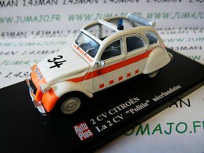 2CVAP9F voiture 1//43 ELIGOR Autoplus CITROËN 2CV n°8 du soixantenaire marron