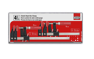 Bessey Clutch Style Bar Clamp 4 Pack Set Of 6 12 In Clamps