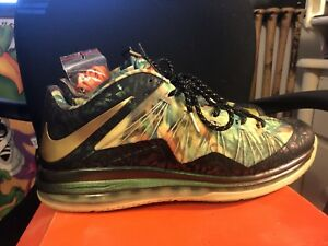 the latest a6aaf d7ae2 Image is loading Nike-Lebron-10-X-low-Championship-pack-SAMPLE-
