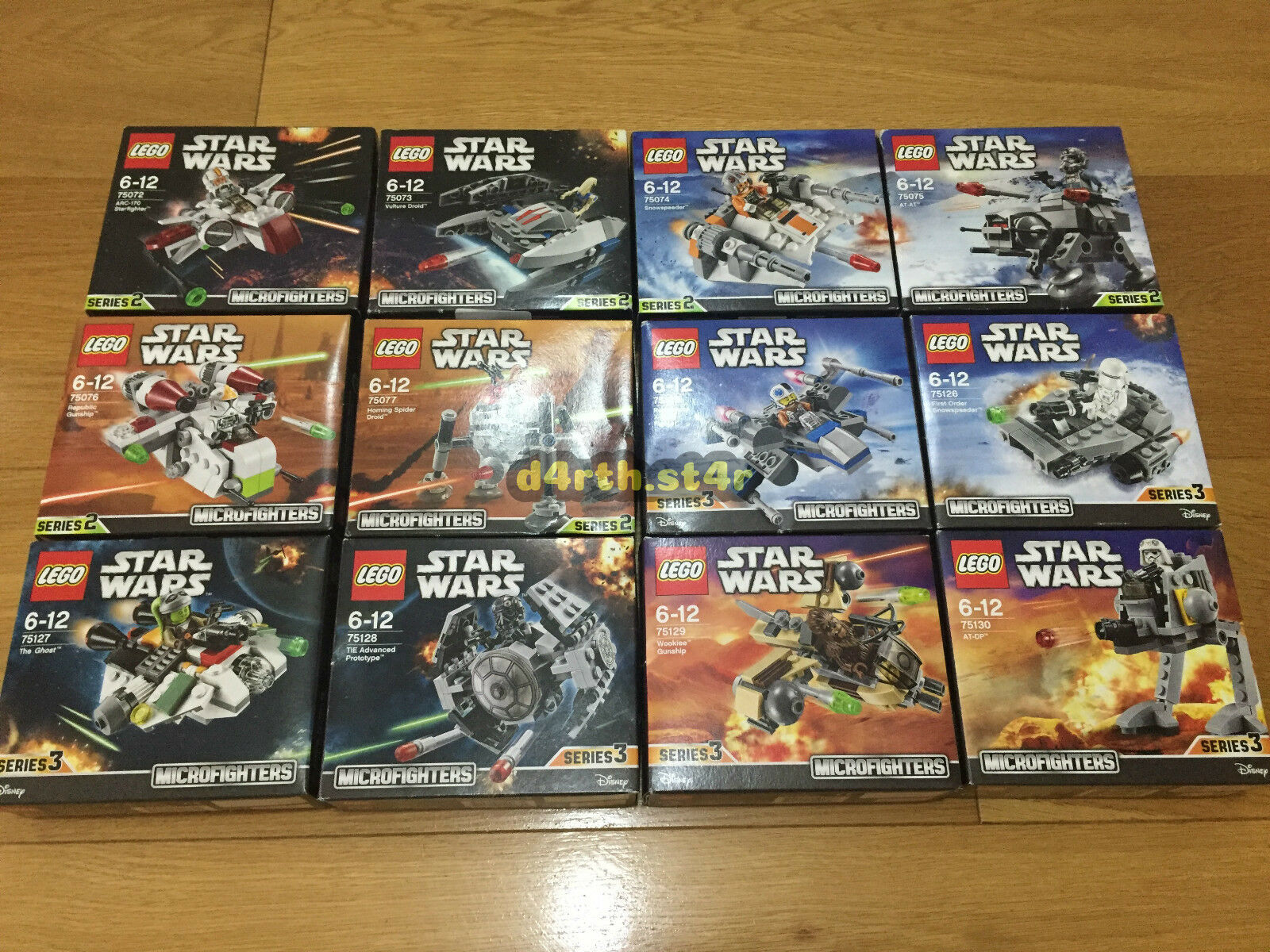 NUOVO   LEGO STAR WARS SERIE 2 & 3 Microfighters   No Minifigure/ultimo