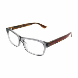 Gucci-GG-0006OA-004-Asian-Fit-Grey-Havana-Plastic-Rectangle-Eyeglasses-55mm