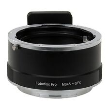 Fotodiox Obiettivo Adattatore per Mamiya 645 (m645) Lente Per Fujifilm Gfx fotocamera 50s
