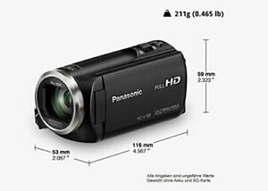 Panasonic-V180-full-HD-video-camera-camcorder-new-with-Damaged-packaging
