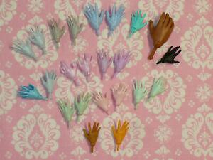 Mattel-Monster-High-Doll-HUGE-23-pc-HAND-REPLACMENT-LOT-Monster-High-Doll-HANDS