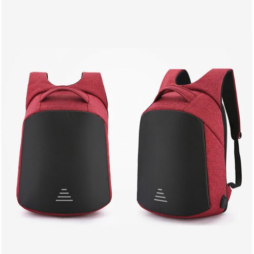 Anti-theft Waterproof Men Women Laptop Backpack USB Charge Port School Travel