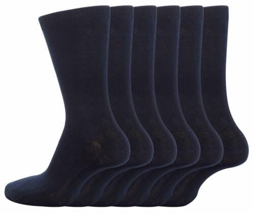 12 Pairs Of Boys Girls Cotton Rich Socks Back To School Everyday Ankle Sock