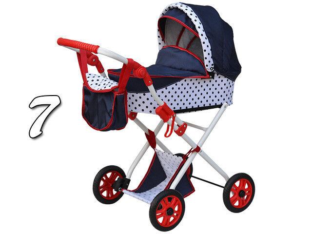 (Nr.0KS7)     Puppenwagen mit verstellbarer Griffhöhe Neu 8a552d
