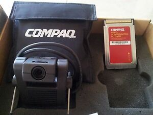 Compaq-webcamera-Portable-Video-Conferencing-Kit-PCMCIA-web-camera