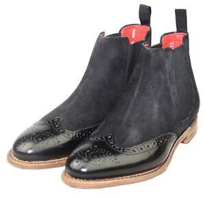 Gordon-amp-Bros-5776-Paris-rahmengenaehte-Damen-Chelsea-Boots-Leder