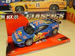 Scx 62940 Ferrari 360gtc ** Red Bull Livrée ** - Neuf En Boîte.-afficher Le Titre D'origine Chaud Et Coupe-Vent