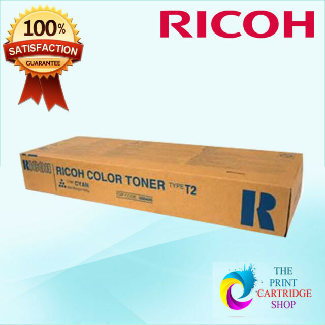 New & Original Ricoh 888486 Type T2C Cyan Toner Aficio 3224C 3232C 17K Pages