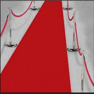 Amscan-15-FT-environ-4-57-m-Hollywood-Party-Decoration-Tissu-Red-Carpet-Floor-Runner