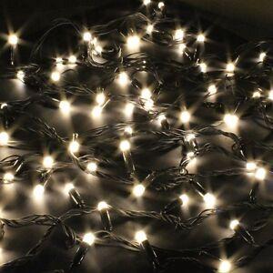10m 100er led lichterketten au en leuchte fuer weihnachten mit stecker de ebay. Black Bedroom Furniture Sets. Home Design Ideas