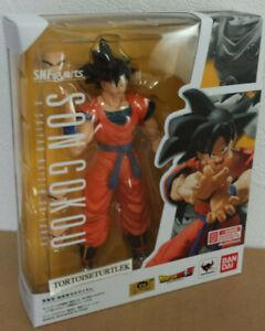 Bandai S.H.Figuarts Dragon Ball Son Goku A Saiyan Raised on Earth Action Figure