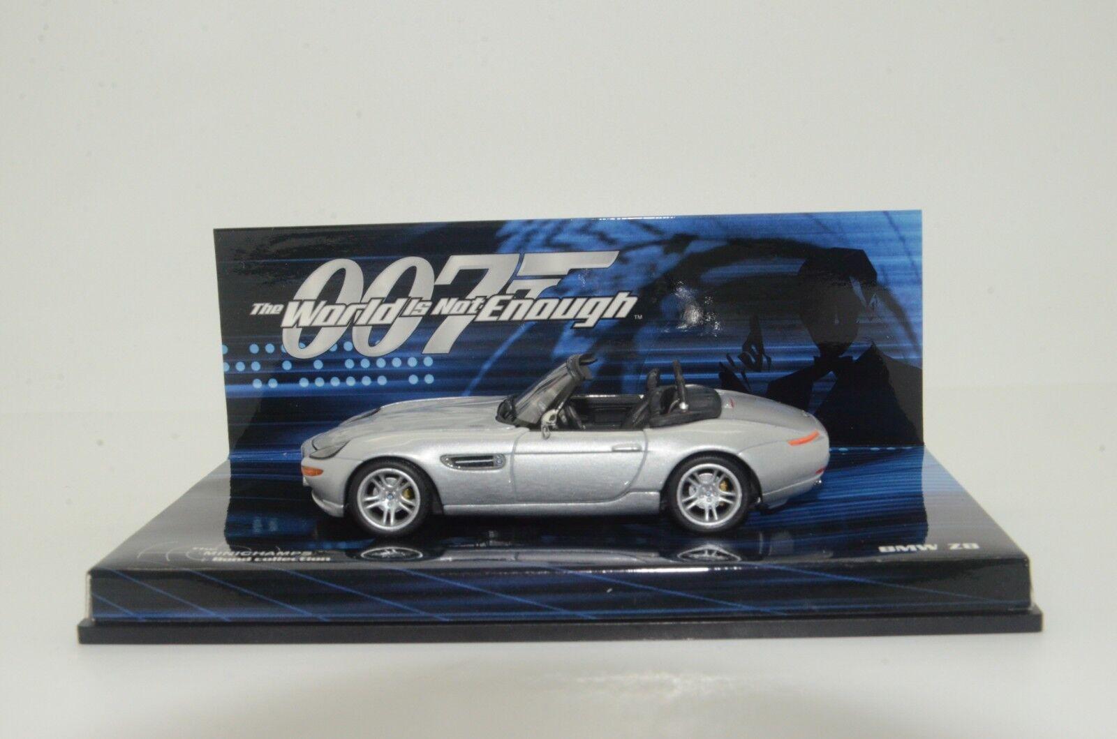RARE    BMW Z8 The Bond Collection Minichamps 28730 1 43