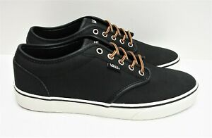 Vans Atwood Leather Black Marshmallow VN0A327L68X Men's Size: 9.5 ...