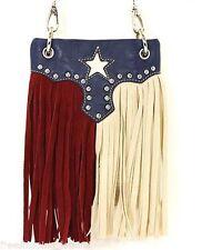 wholesale lot (5) Texas Flag MESSENGER BAG CROSS BODY HANDBAG w/display