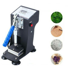 Portable Rosin Press Machine Solventless Oil Extraction Dual Heat Plates 3 X 2