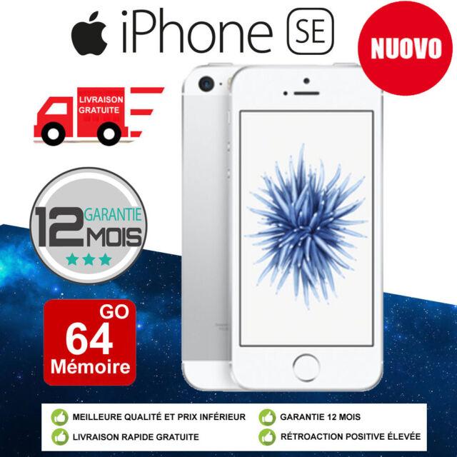 Neuf Apple iPhone SE 64Go 64GB Silver DÉBLOQUÉ Téléphones Argenté FR