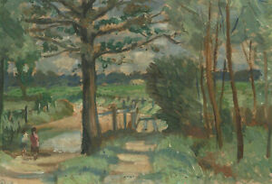Alfred-Henry-Robinson-Thornton-NEAC-1863-1939-20th-Century-Oil-Country