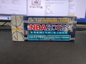 2019-20 Panini NBA Hoops Premium Stock Factory Sealed Box - Zion and Ja!!!!