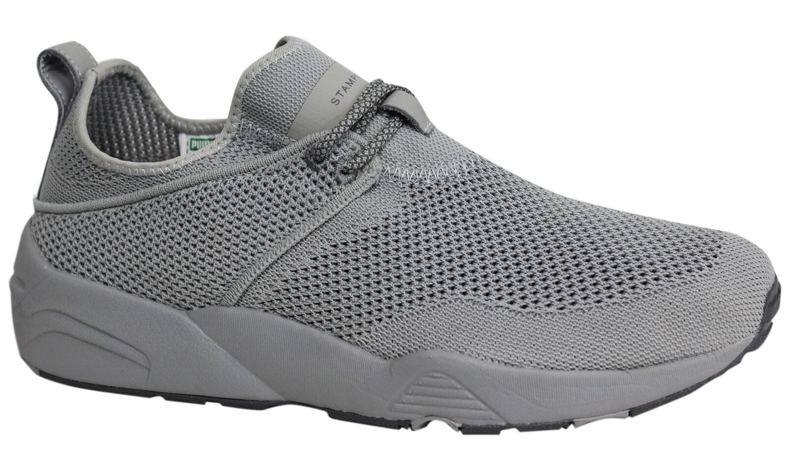 Puma x Stampd Trinomic Woven Steel Gris Homme Textile Trainers 362744 02 P4