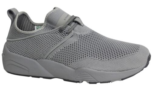 Puma x Stampd Trinomic Woven Steel Grey Mens Lace Up Trainers 362744 02 D128