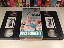 Brigitte Bardot 2 VHS Set French Comedy That Naughty Girl Love On A Pillow