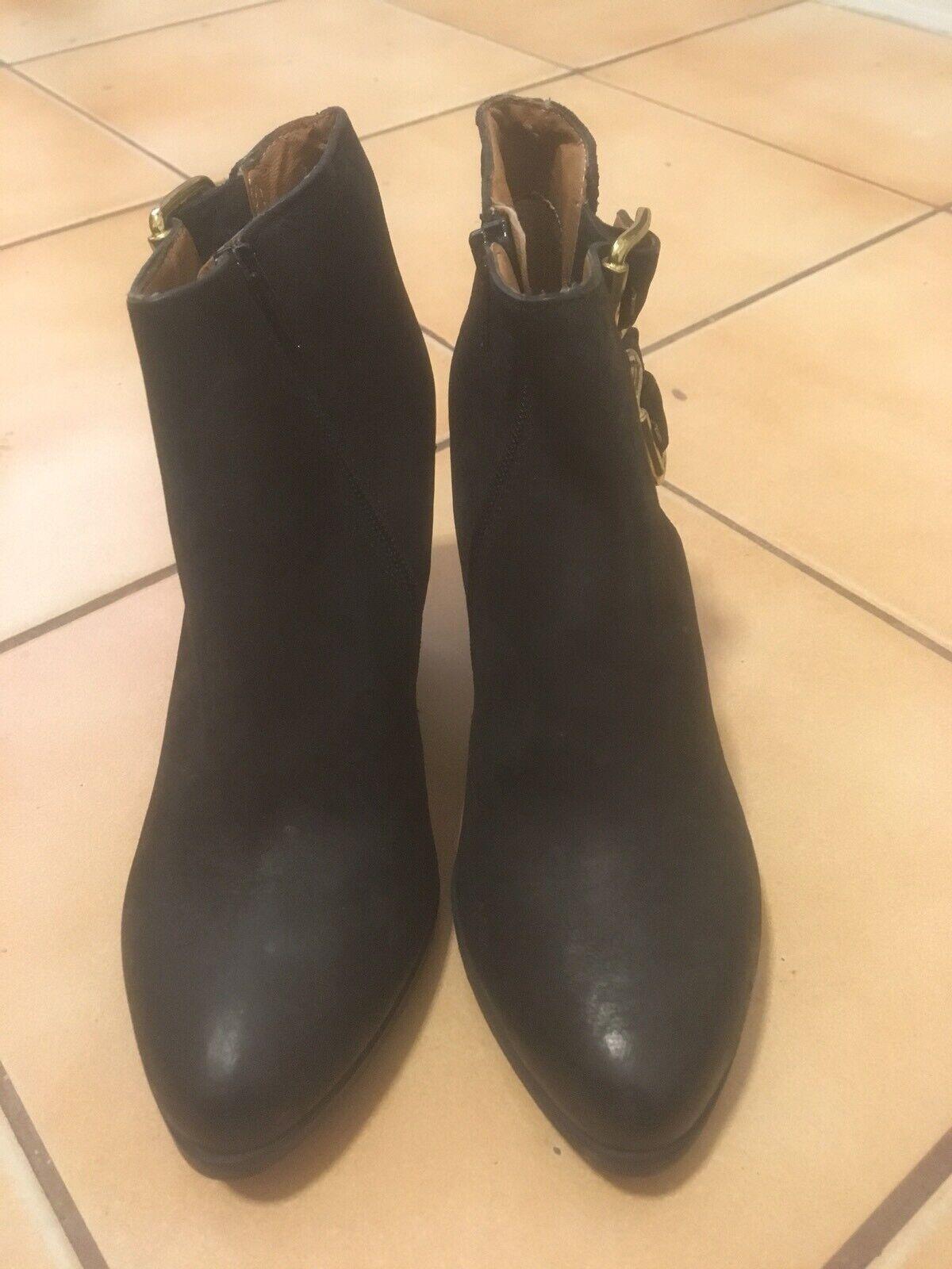 Ankle Stiefel  Carvela Kurt Geiger schwarz Leather Größe Größe Größe Uk 3  36 b14430