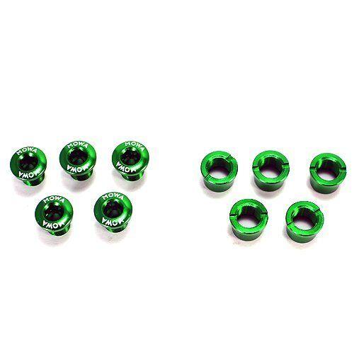 MOWA 7075 Alloy Crank Bolts Green