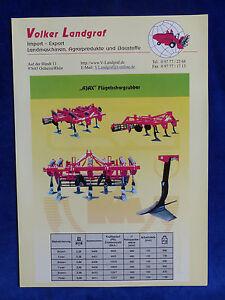 Initiative Volker Landgraf - Ajax Flügelschargrubber Pegaz - Prospekt Brochure (0834 Bonne Conservation De La Chaleur