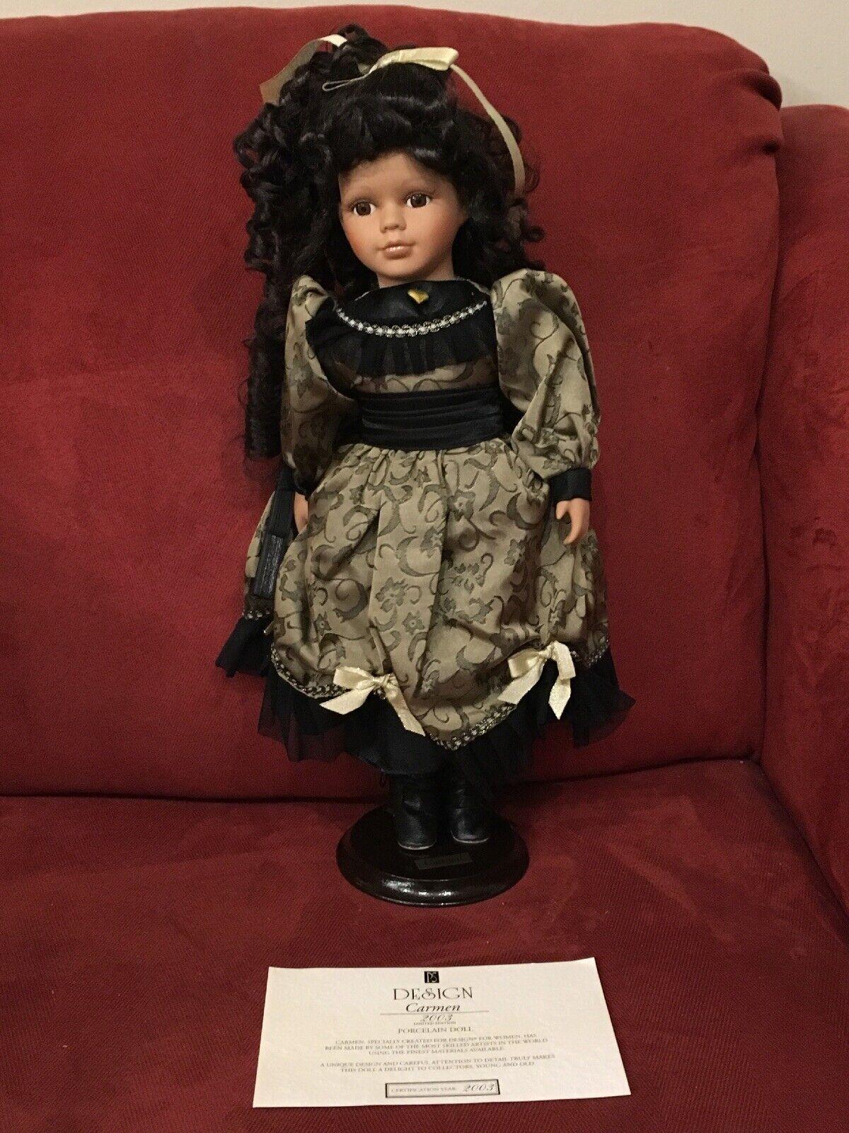 autoMEN  Porcelain bambola NIB 2003 Limited edizione 16  ttutti w ste Lord & Taylor  vendita calda
