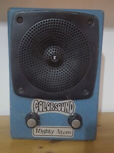 🇬🇧COLORSOUND MIGHTY ATOM BATTERY OPERATED GUITAR AMPLIFIER MADE IN THE UK 🇬🇧