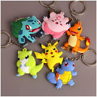 Attractive 3D Pocket Pikachu Pokemon Go Key Ring Keychain Pendant Holder Gift