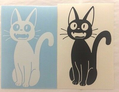 Studio Ghibli Kiki's Delivery Service Black Cat JIJI MEOW Vinyl Sticker Decal