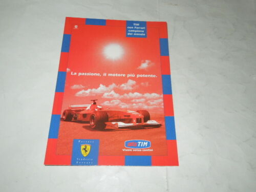 "AUTOMOBILISMO /""FERRARI/""-/""CARTOLINA PUBBLICITARIA EDIZIONE LIMITATA N°579 CITRUS"