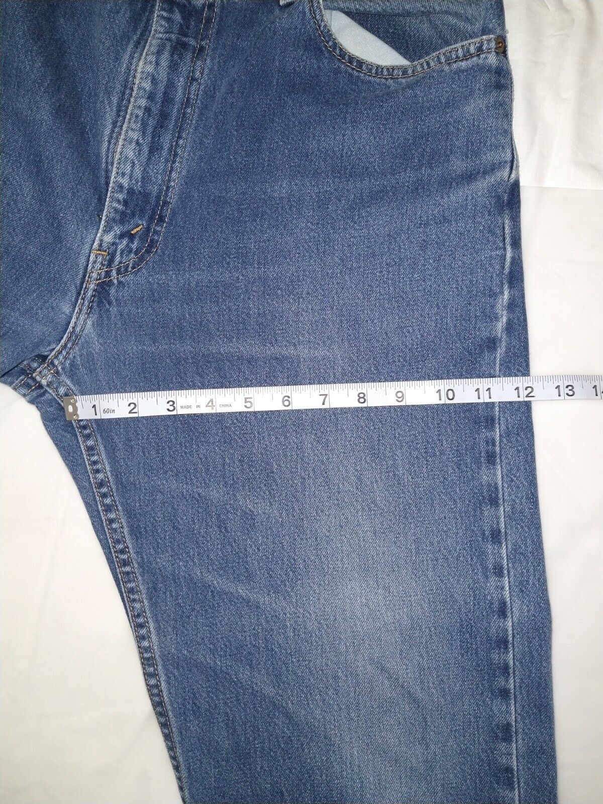 Levi's 505 Jean's Made in the USA Men's size 36x3… - image 7