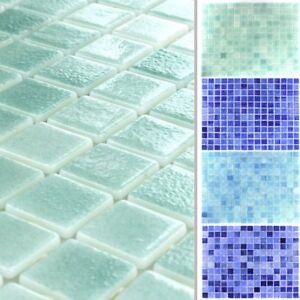 MUSTER Schwimmbad Pool Glas Mosaik Fliesen Ocean EBay - Pool fliesen oder streichen