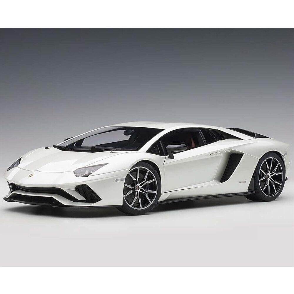 servicio considerado Autoart Lamborghini Aventador S 1 18 Globo blancoo blancoo blancoo blancoo Perla 79131  Mercancía de alta calidad y servicio conveniente y honesto.
