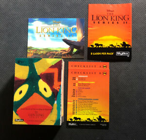1994-SKYBOX-WALT-DISNEY-THE-LION-KING-SERIES-2-COMPLETE-80-CARD-SET